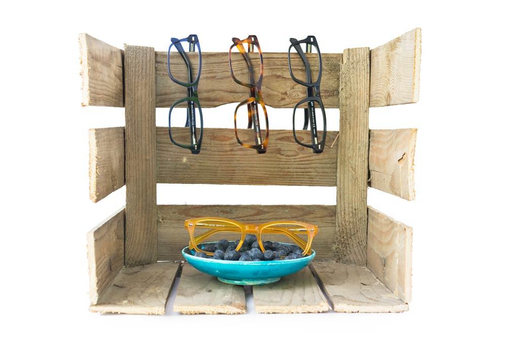 creative still life glasses